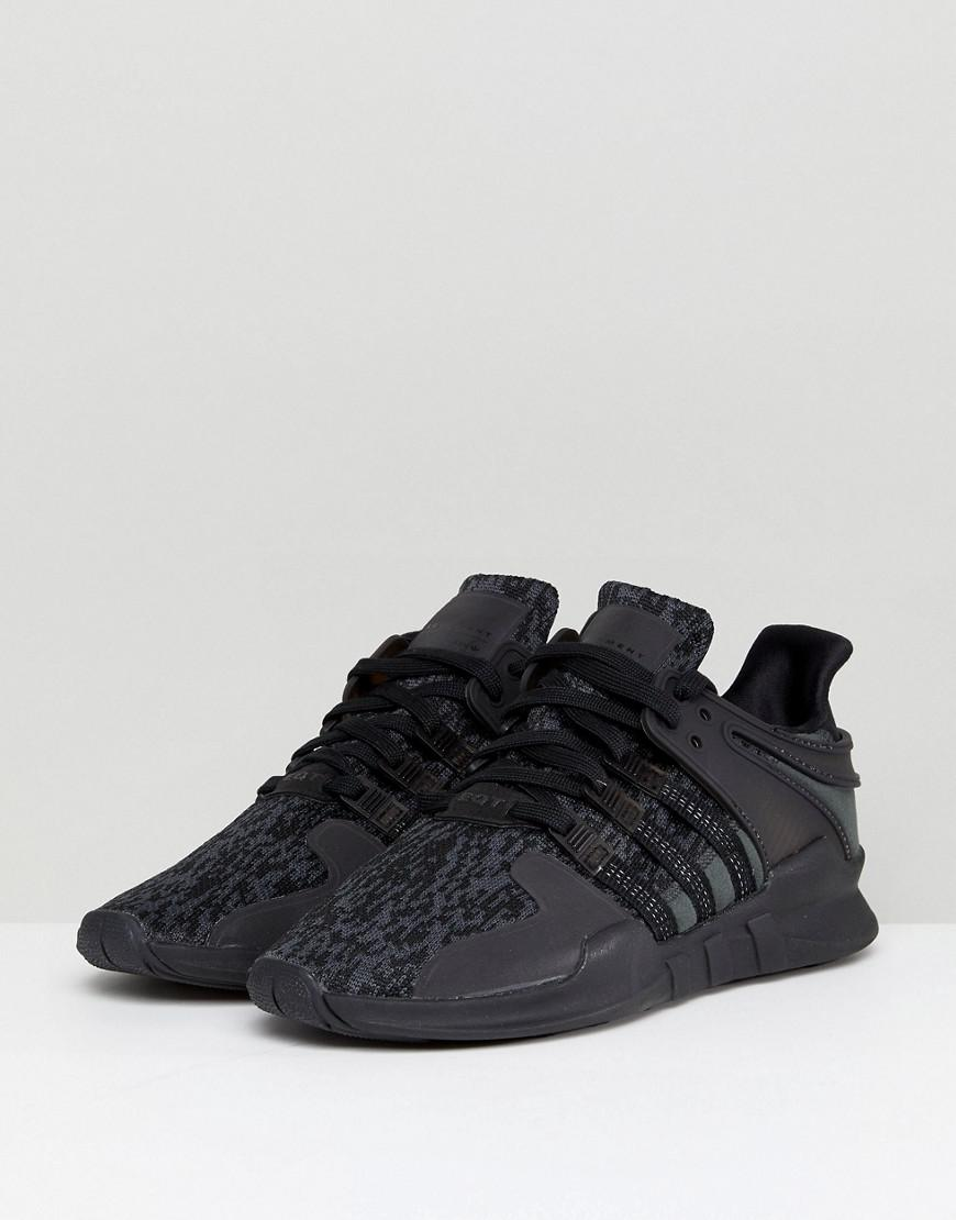 arrives c4491 06715 adidas Originals Eqt Support Adv Trainers In Black By9589 in