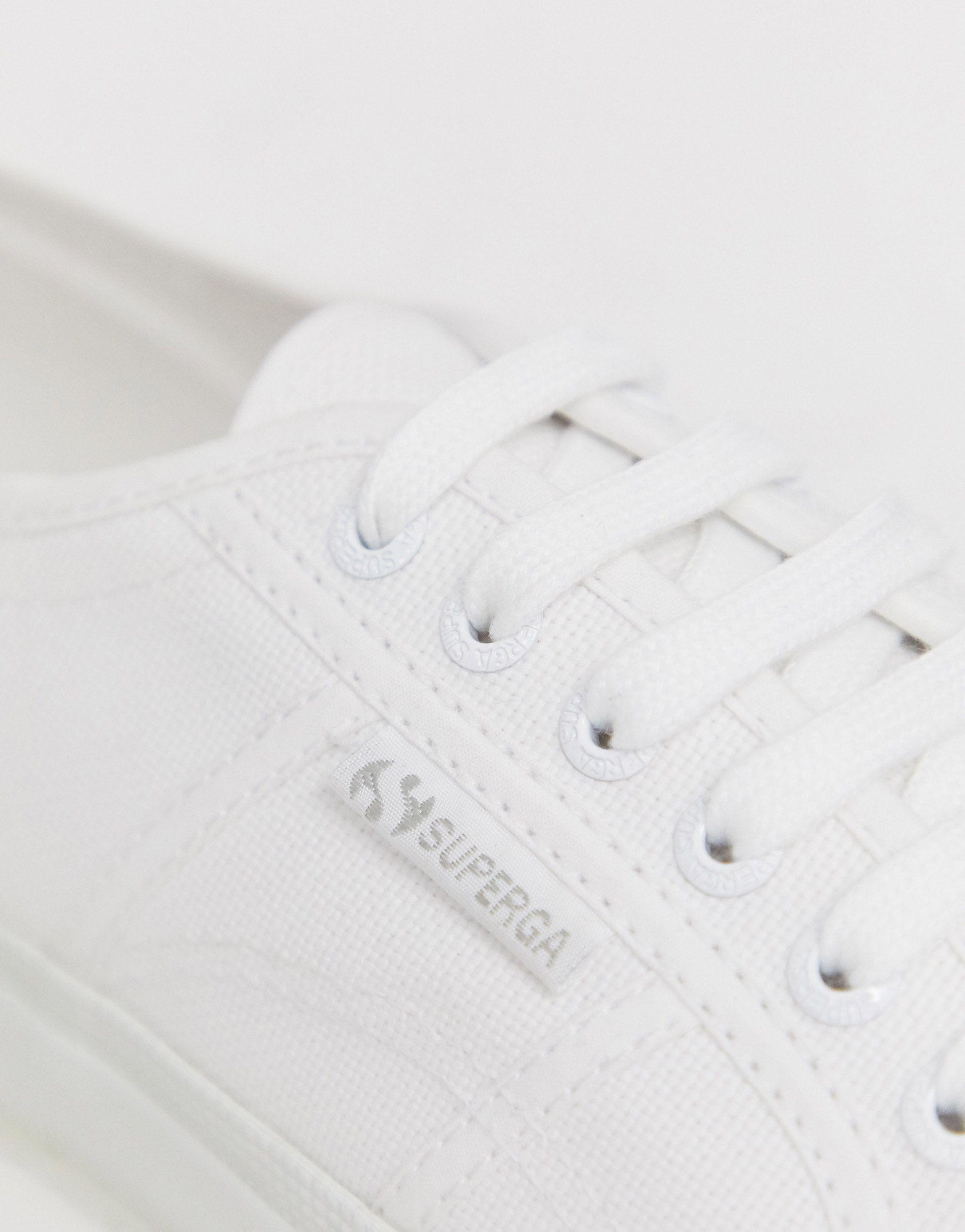 Zapatillas Superga de Lona de color Blanco para hombre