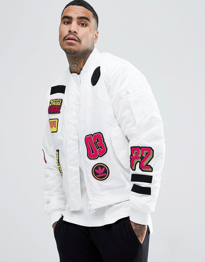 adidas originals white jacket