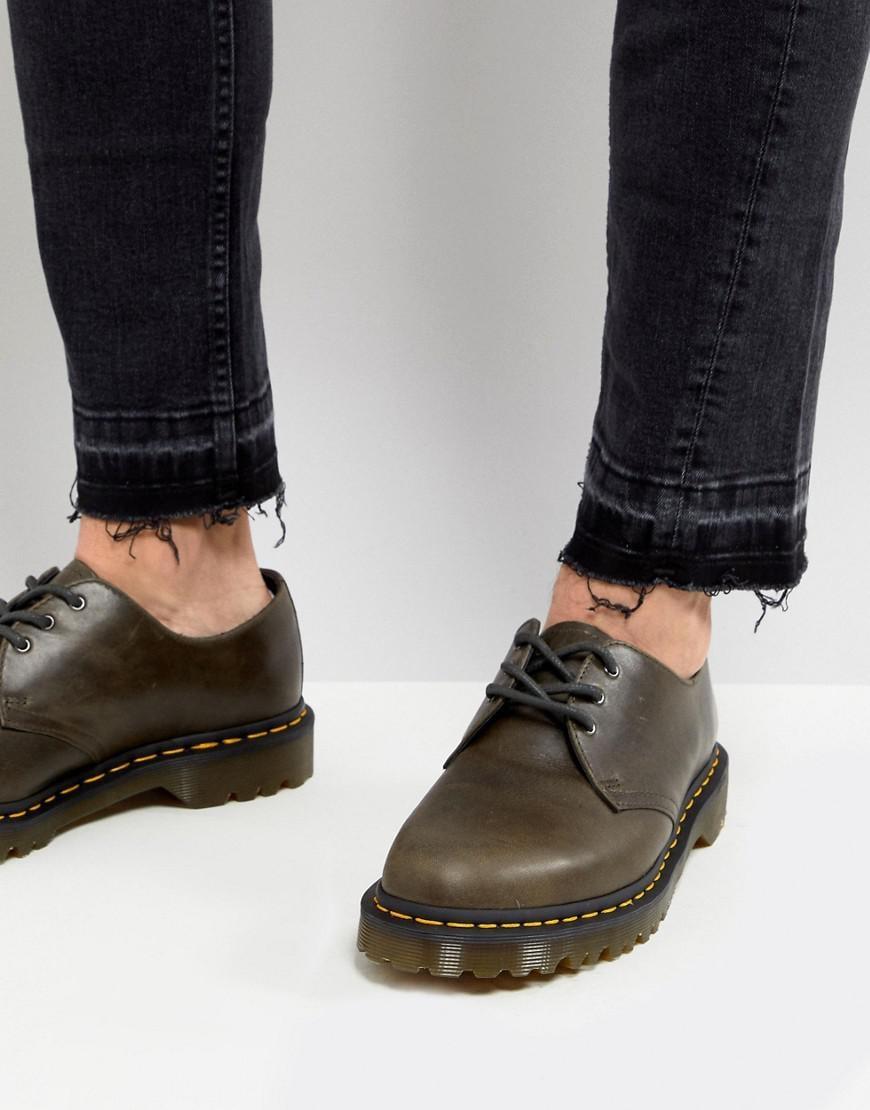 tulokas myyntipisteiden myynti aika halpaa 1461 3-eye Shoes In Dark Taupe