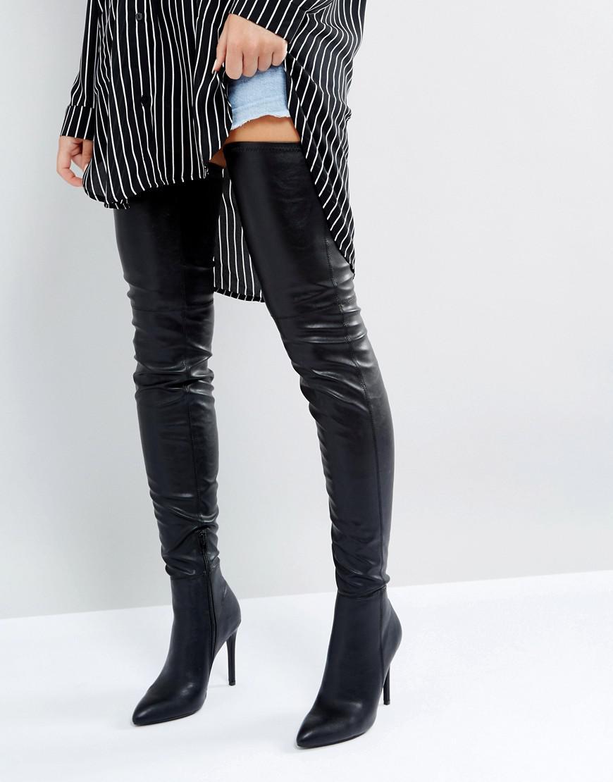 over knee