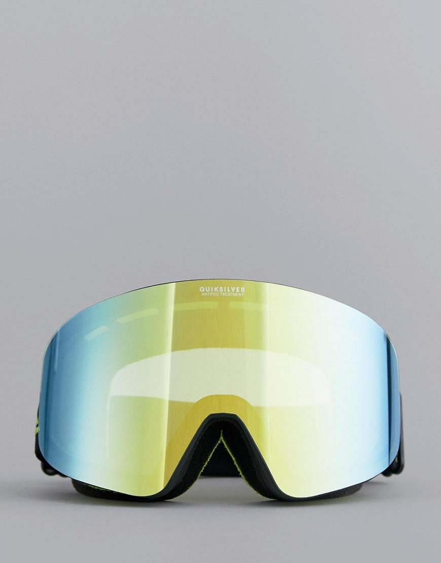 4e2ab4b861f Lyst - Quiksilver Rc M Snow Goggles In Black in Black for Men