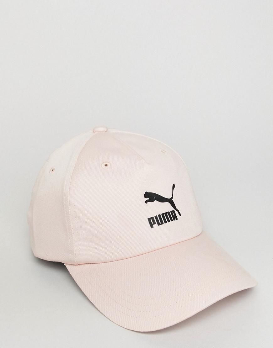 casquette puma rose