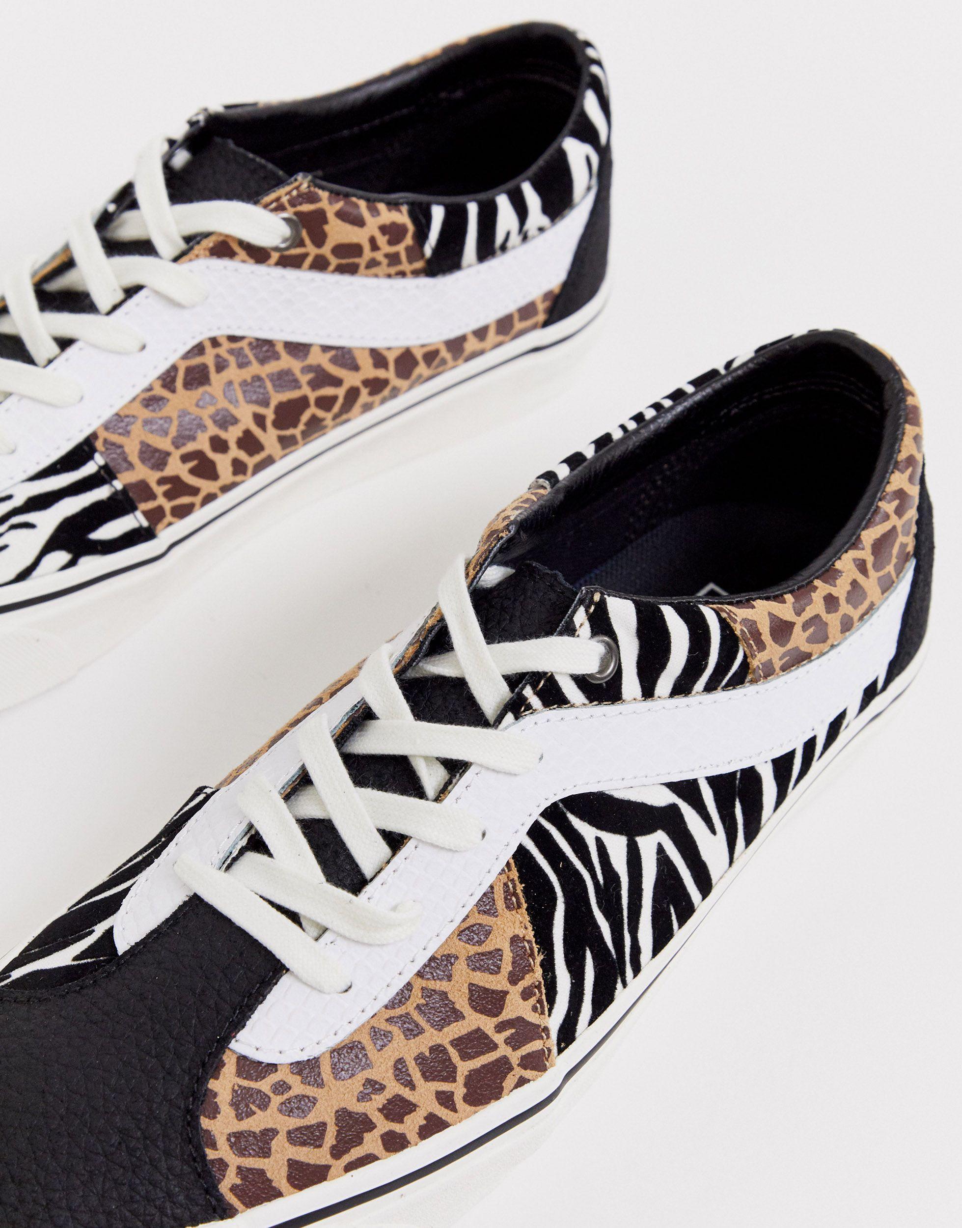 Vans Rubber Prey Bold Ni - Sneakers Met Dierenprint, Exclusief Bij Asos voor heren