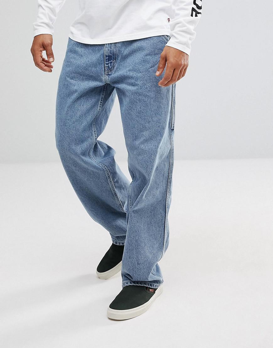 0e48a950 Levi's Levi's Silvertab Carpenter Jeans Midwash in Blue for Men - Lyst
