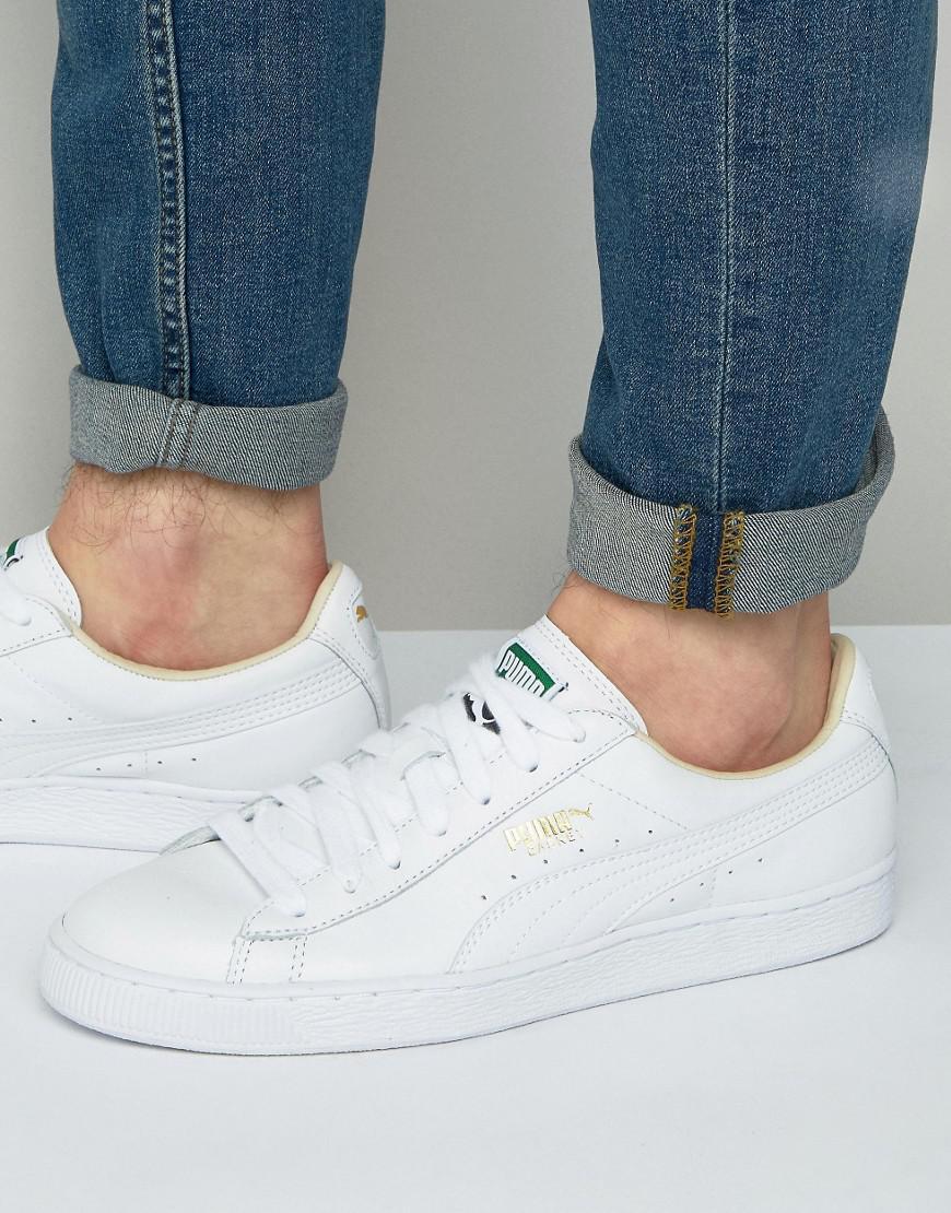 puma basket classic soft leder sneaker