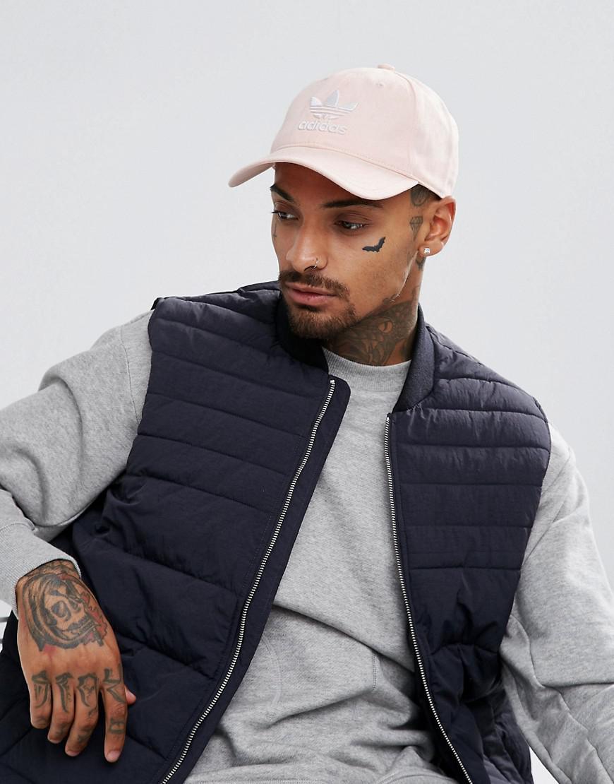 adidas Originals Trefoil Cap in pink