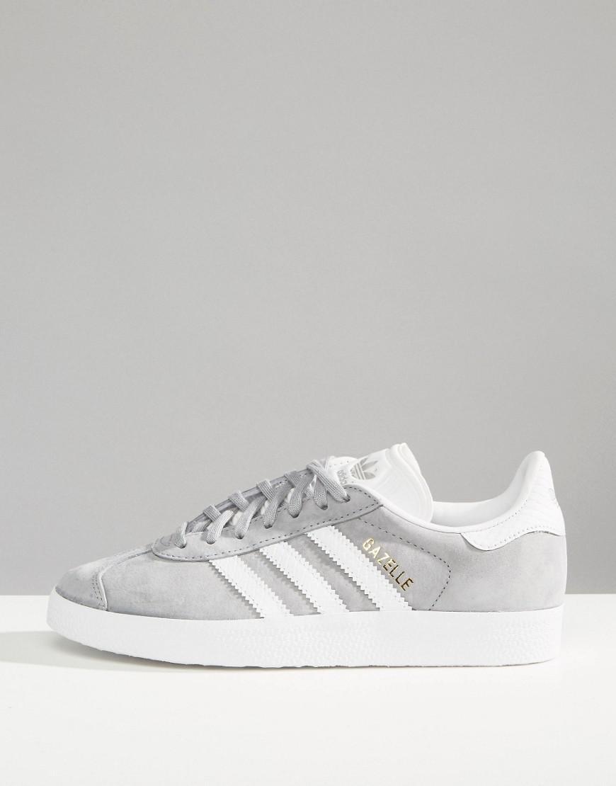 Adidas Originals Originals Gazelle zapatillas de deporte con efecto de serpiente gris