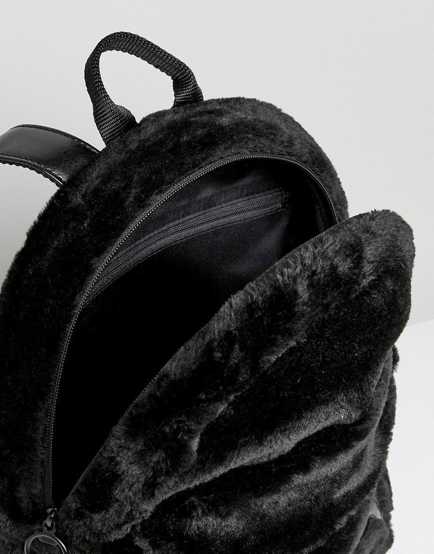 ca0ef96ac987e Sac à dos en fourrure PUMA en coloris Noir - Lyst