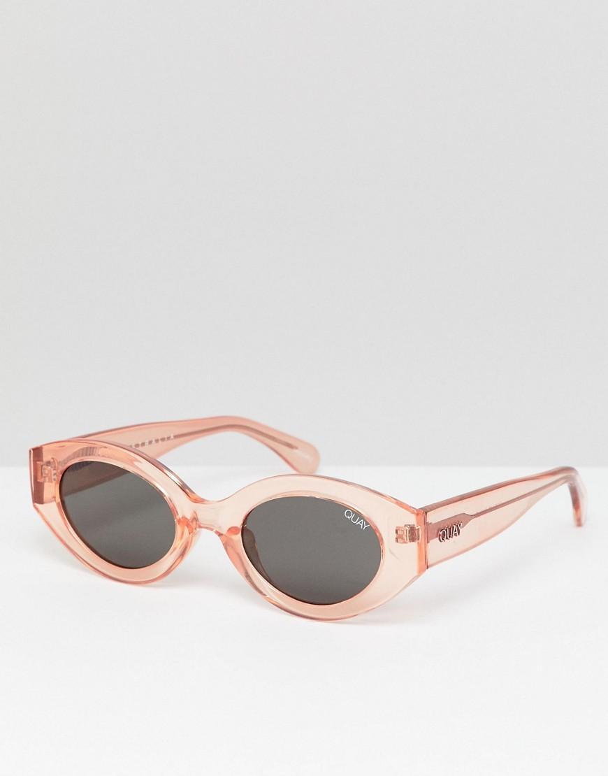 04e1d0ddf9 Lyst - Gafas de sol ovaladas See Me Smile de Quay de hombre de color ...