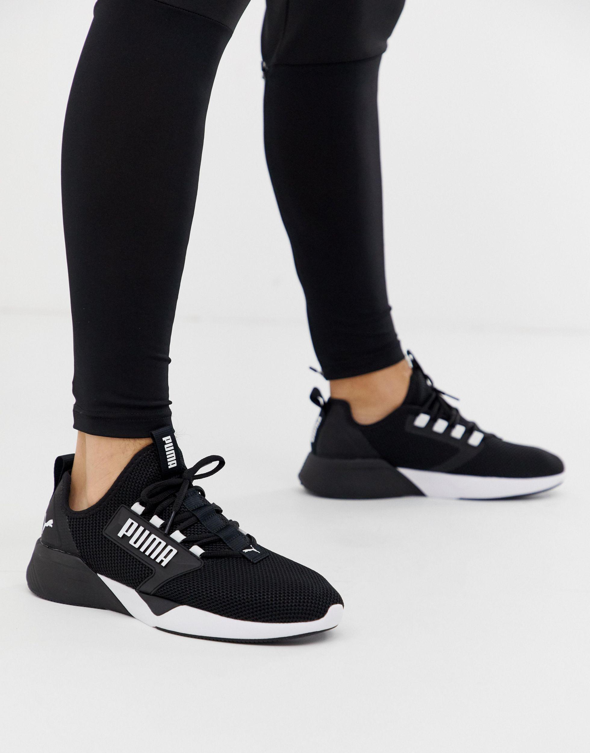PUMA Retaliate Training Shoes in Black for Men - Lyst