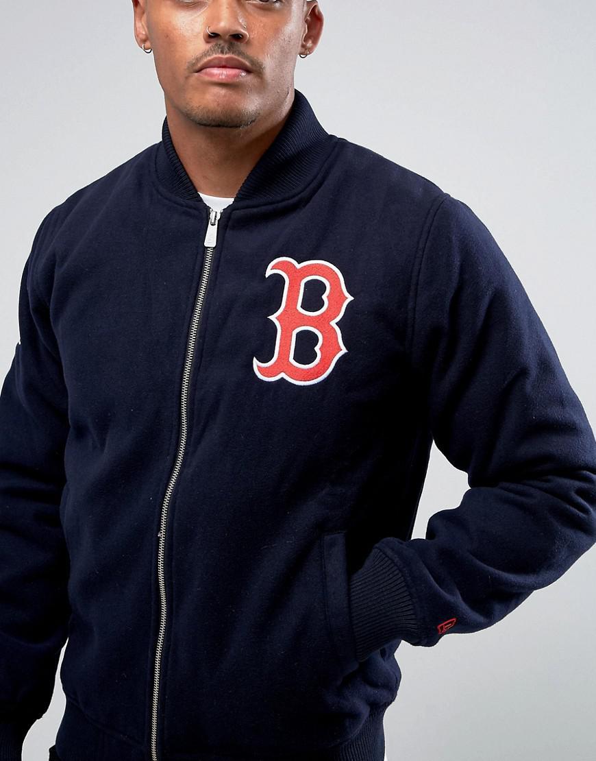 Boston Redsox Rhinestone double sided zipper Hoodie