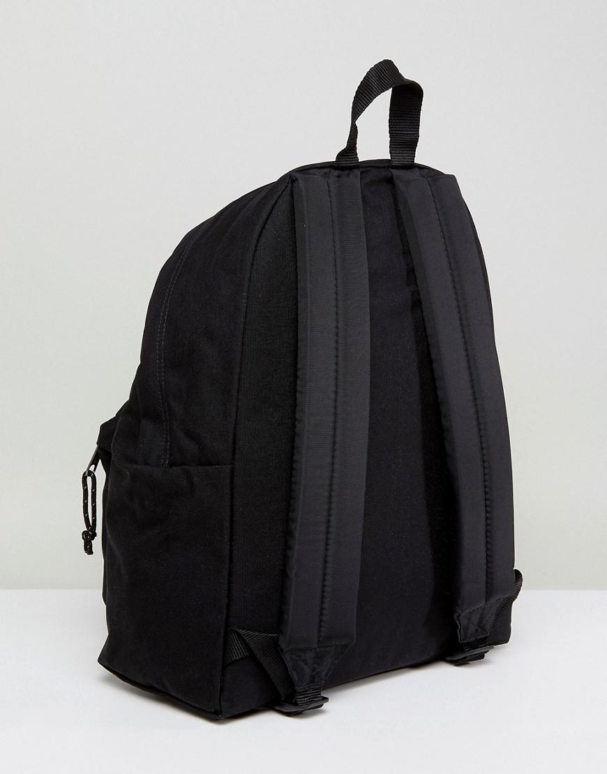Eastpak Canvas Padded Pak'r Backpack Exclusive To Asos in Black for Men
