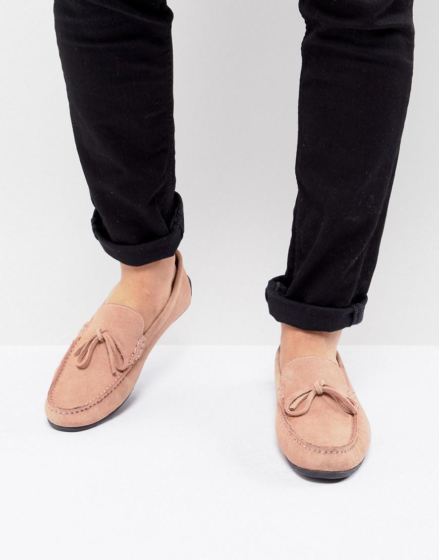 Kg Par Kurt Geiger Ringwood Chaussures De Conduite En Daim - Marron OVtyFKKa9o