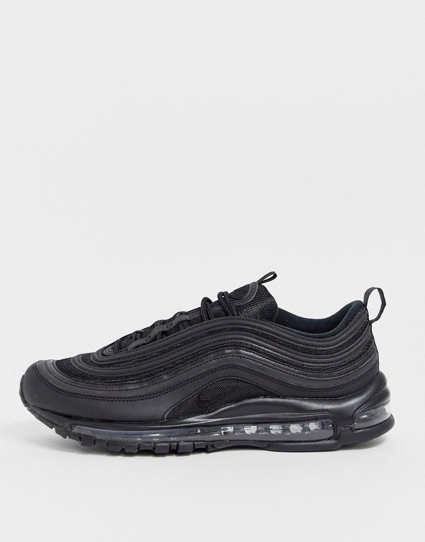 Zapatillas de deporte negras Air Max 97 Nike de Caucho de color Blanco para hombre