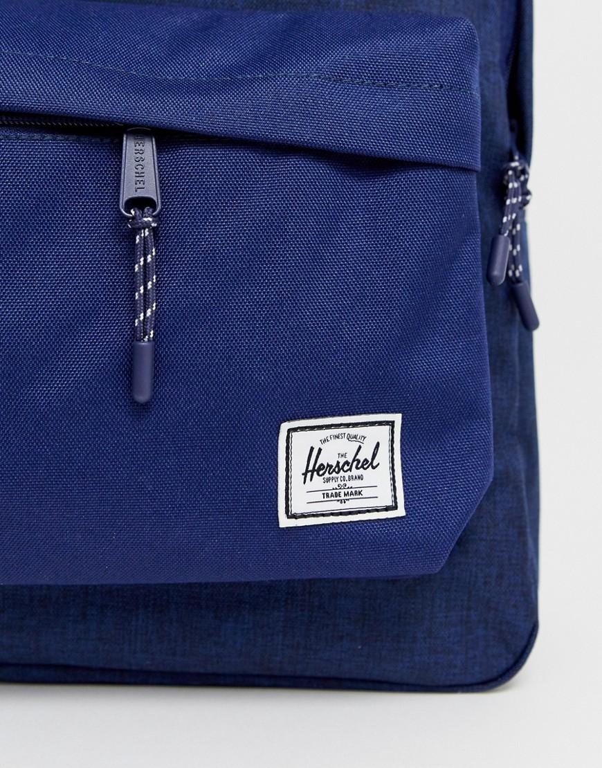 5f825d8a469 Herschel Supply Co. Classic 24l Backpack In Crosshatch Navy in Blue for Men  - Lyst
