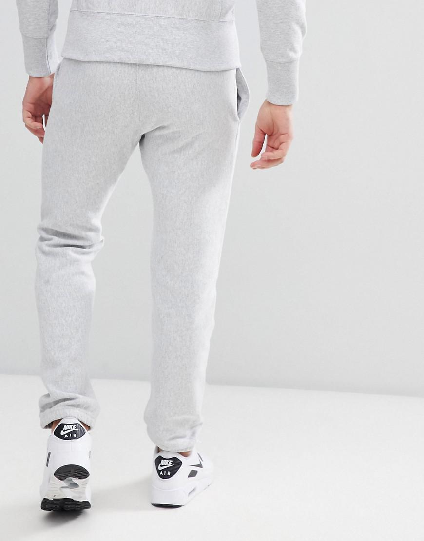 1543c68c5cb Champion Reverse Weave Joggers With Small Logo Grey in Gray for Men - Lyst