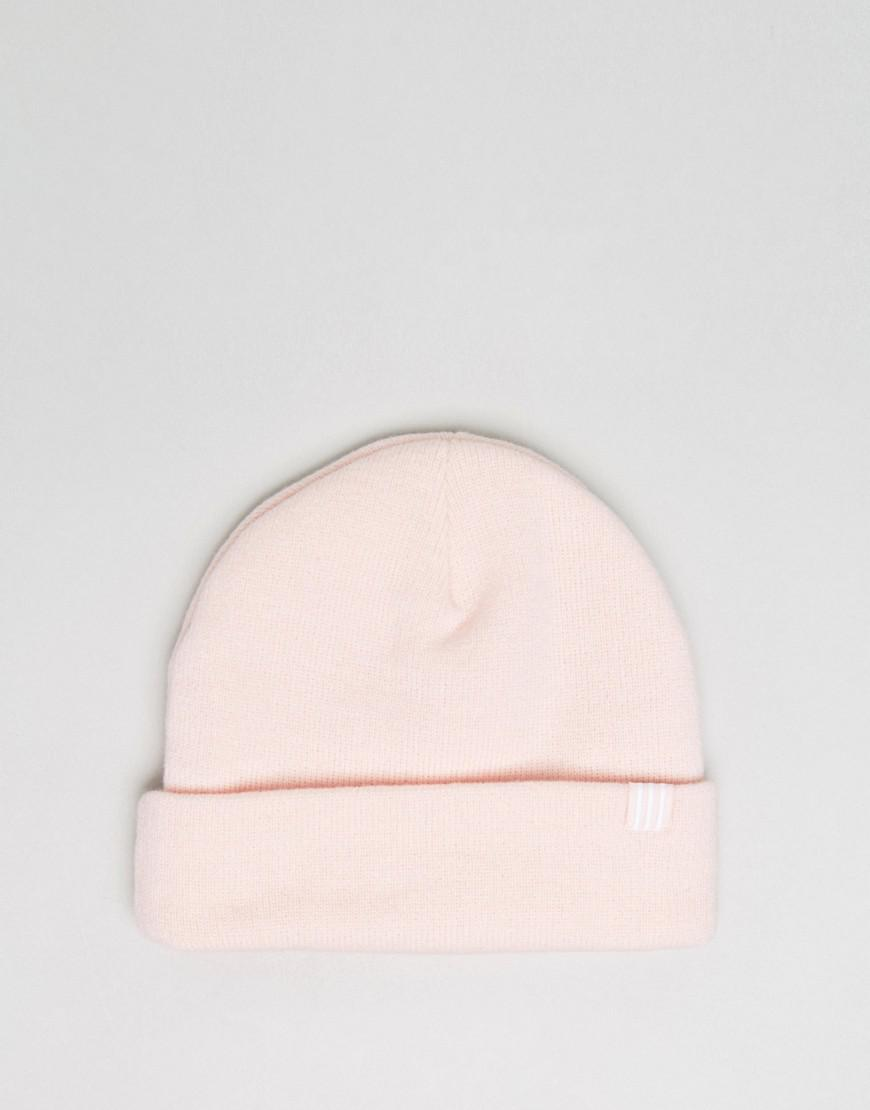 a12b103318a usa lyst adidas originals trefoil beanie in pink br2605 in pink for men  4fd19 77feb