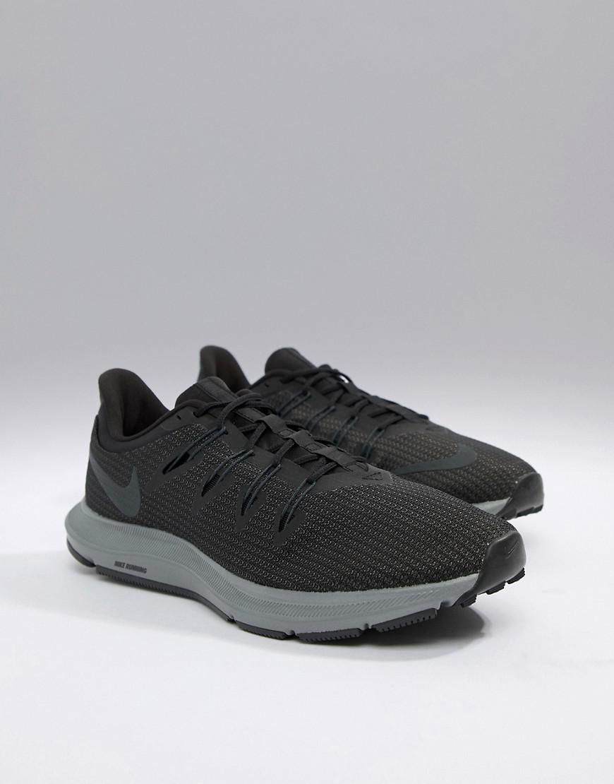 c2857564642ee Nike Quest Trainers In Black Aa7403-002 in Black for Men - Lyst