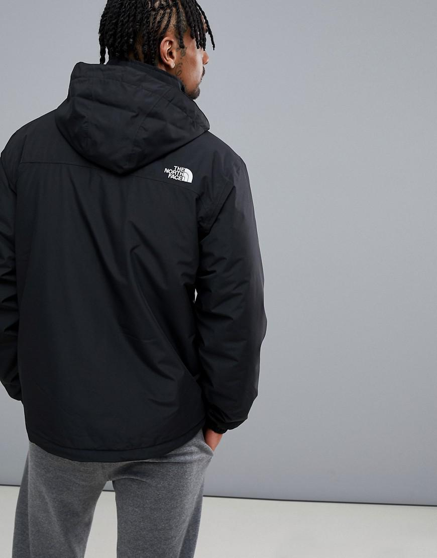 008fa87ebe7 ... italy lyst the north face resolve insulated jacket in black in black  for men 559cd 51476