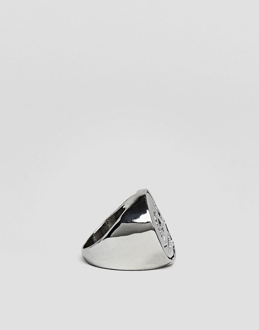 Cheap Monday Denim Unlock Rings in Silver (Metallic) for Men
