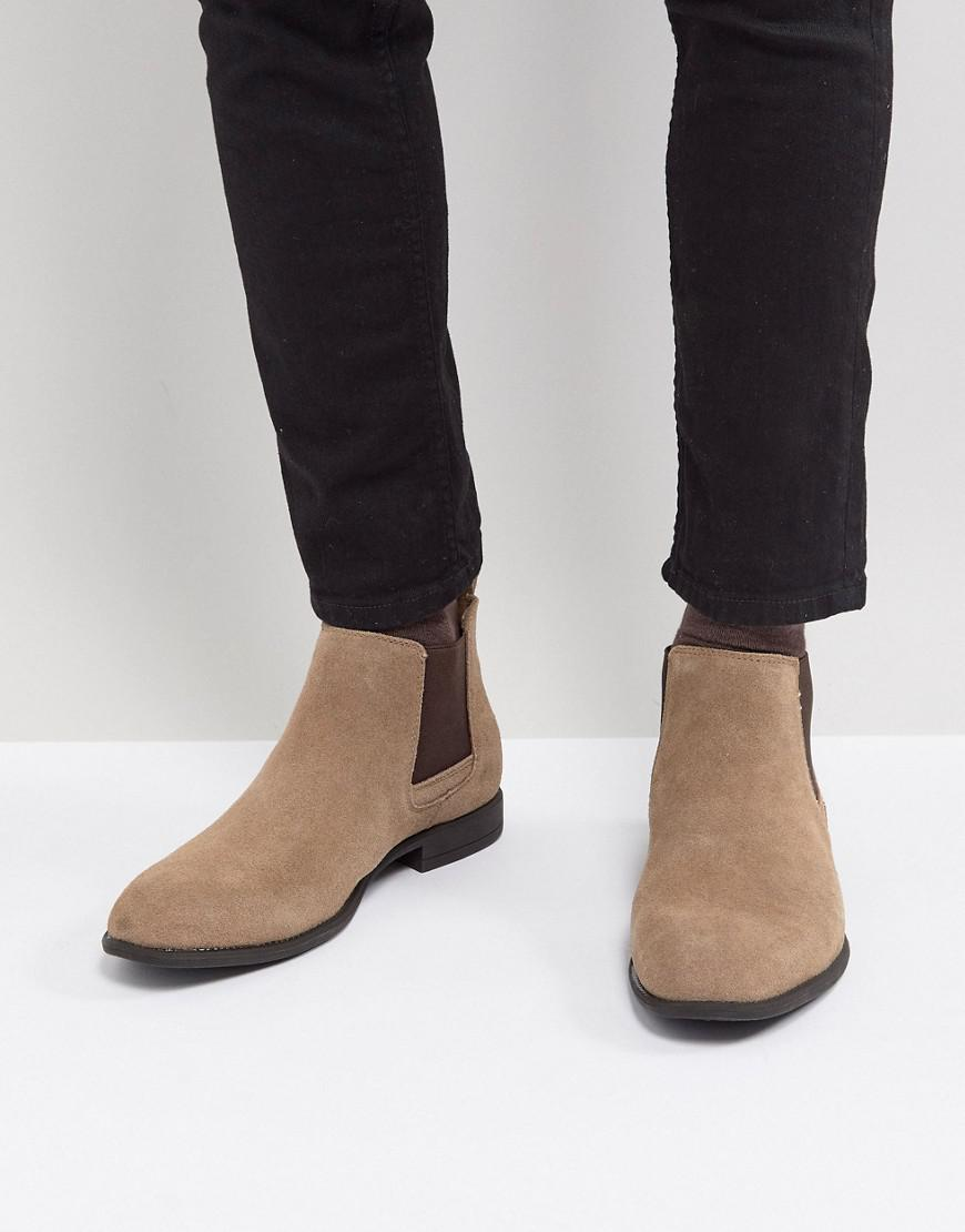 outlet sneakernews Blend Real Suede Chelsea Boots buy cheap free shipping xR2xTf