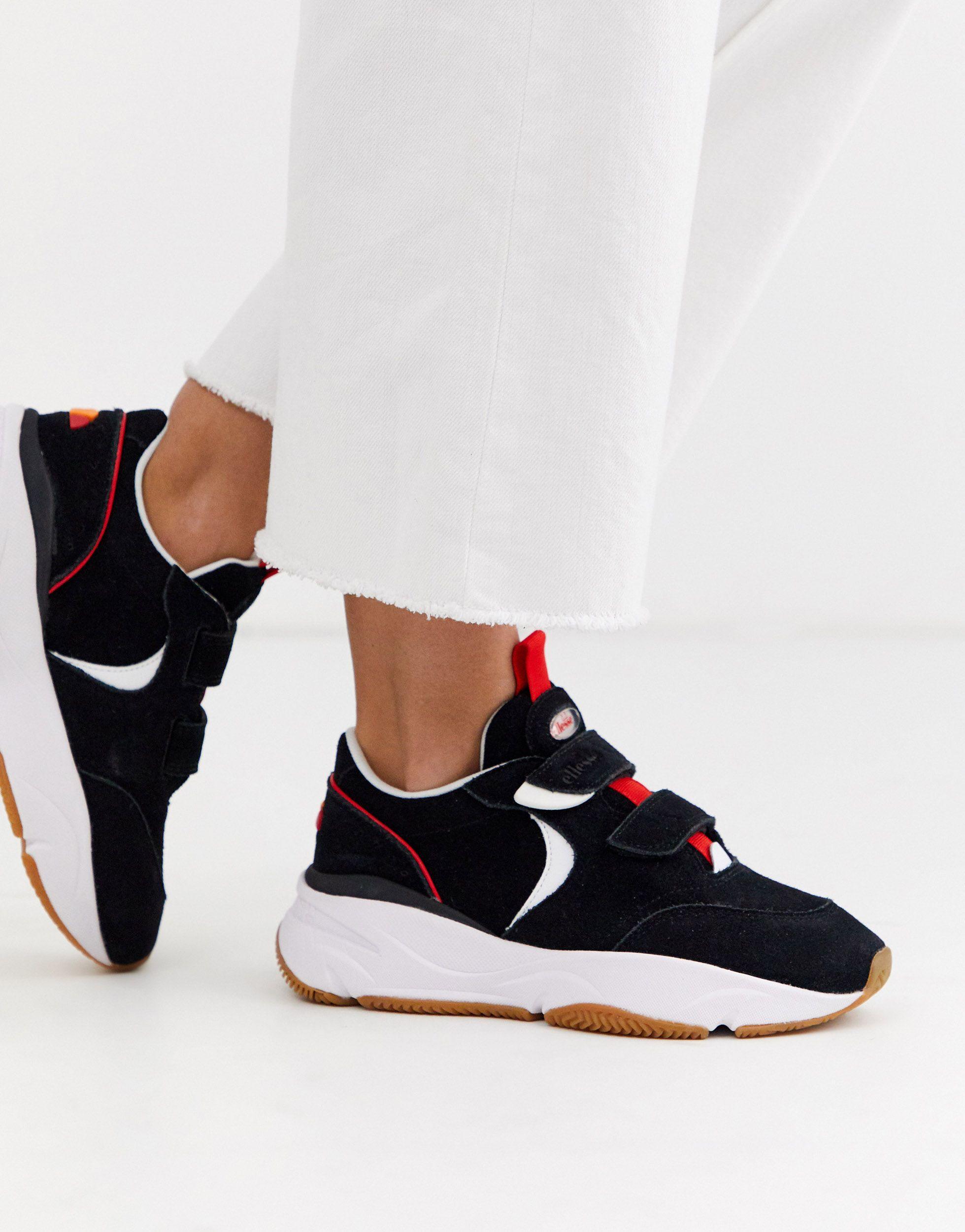 Ellesse Cesana Suede Chunky Sneakers - Lyst