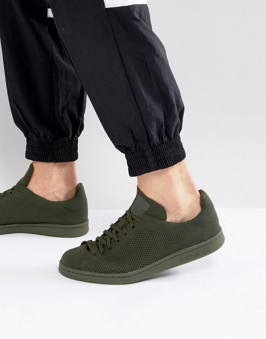 Stan Smith Primeknit BZ0120 Cuir adidas Originals pour homme en ...