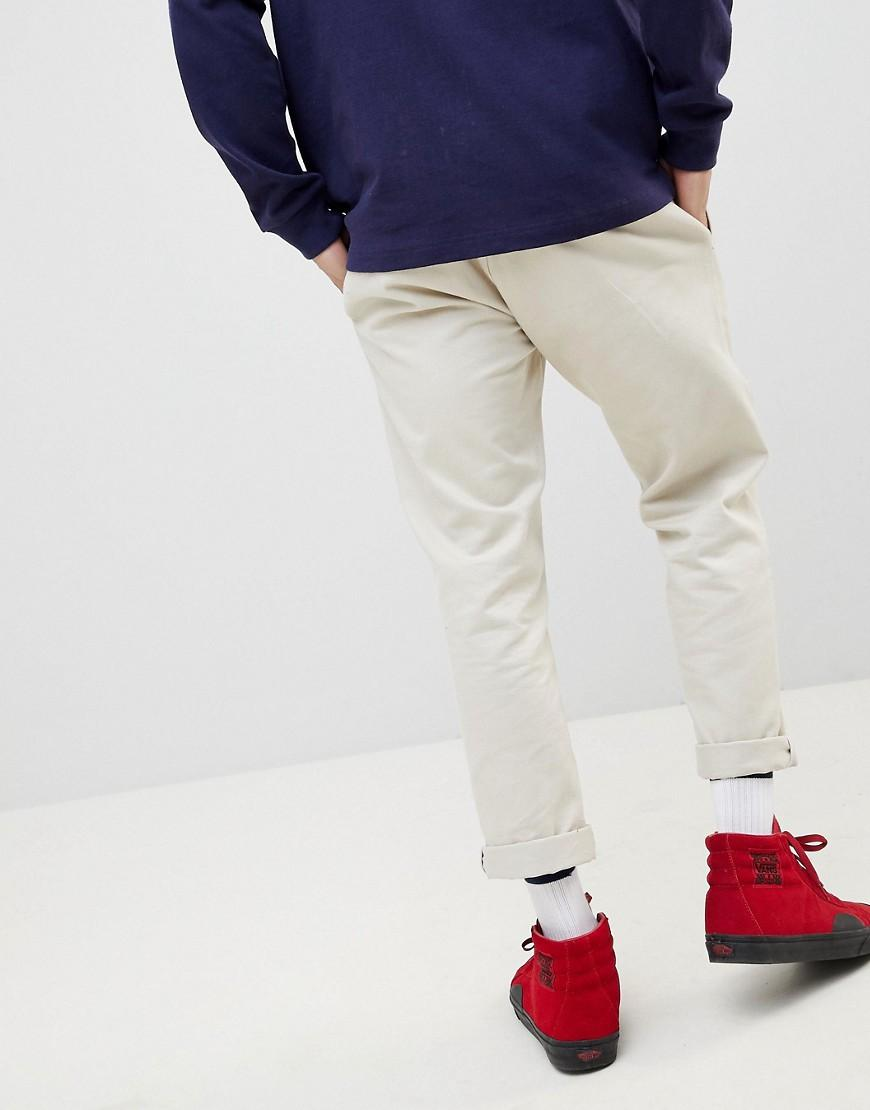 12d1c9a7c Lyst - Tommy Hilfiger 90s Sailing Capsule Cropped Tapered Chinos In Beige  in Natural for Men