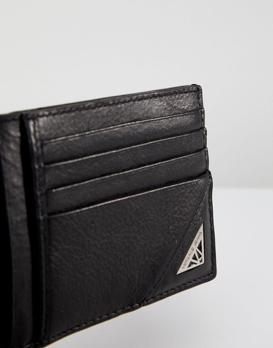 Lyst versace jeans card holder in black in black for men gallery colourmoves
