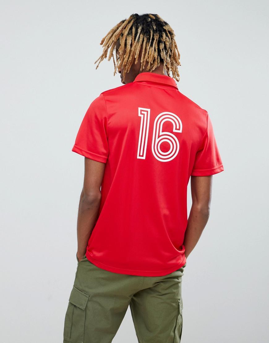 uk store new arrivals buy online adidas Originals Retro Belgium Football Jersey In Red Ce2337 for ...