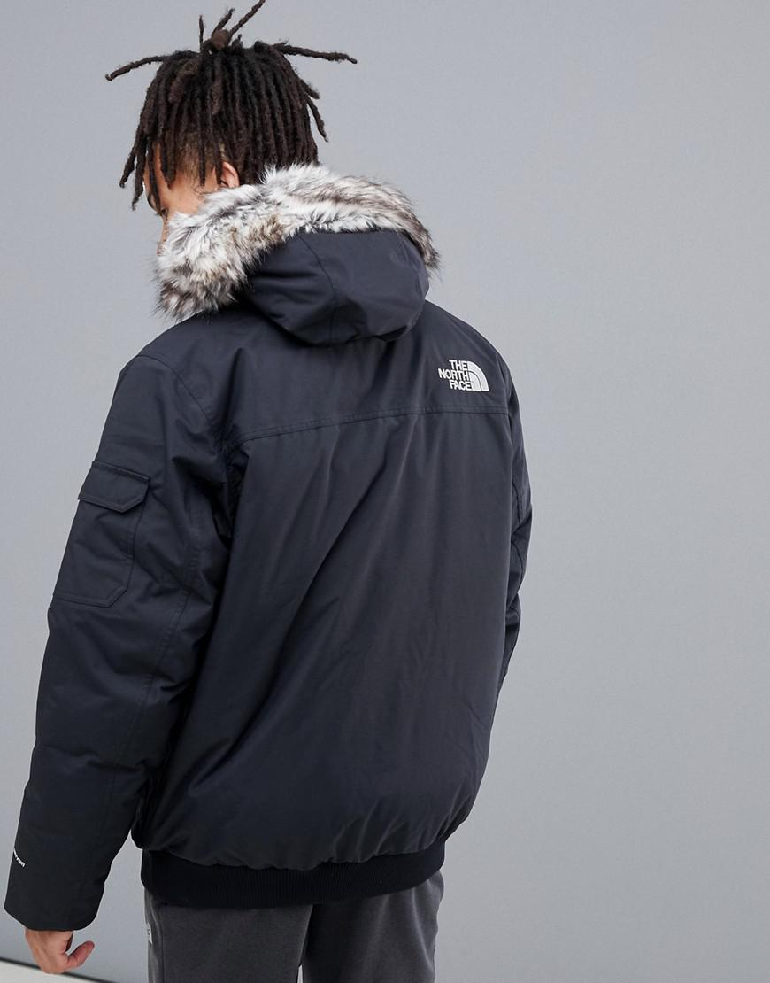 76adf825a6 Lyst - The North Face Gotham Iii Jacket In Black in Black for Men