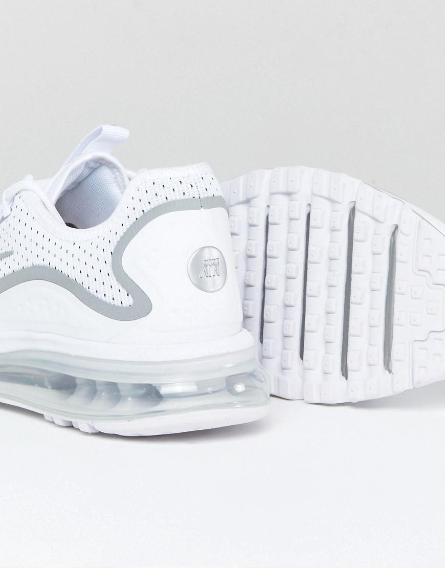 Nike Air Max More Trainers In White 898013-100