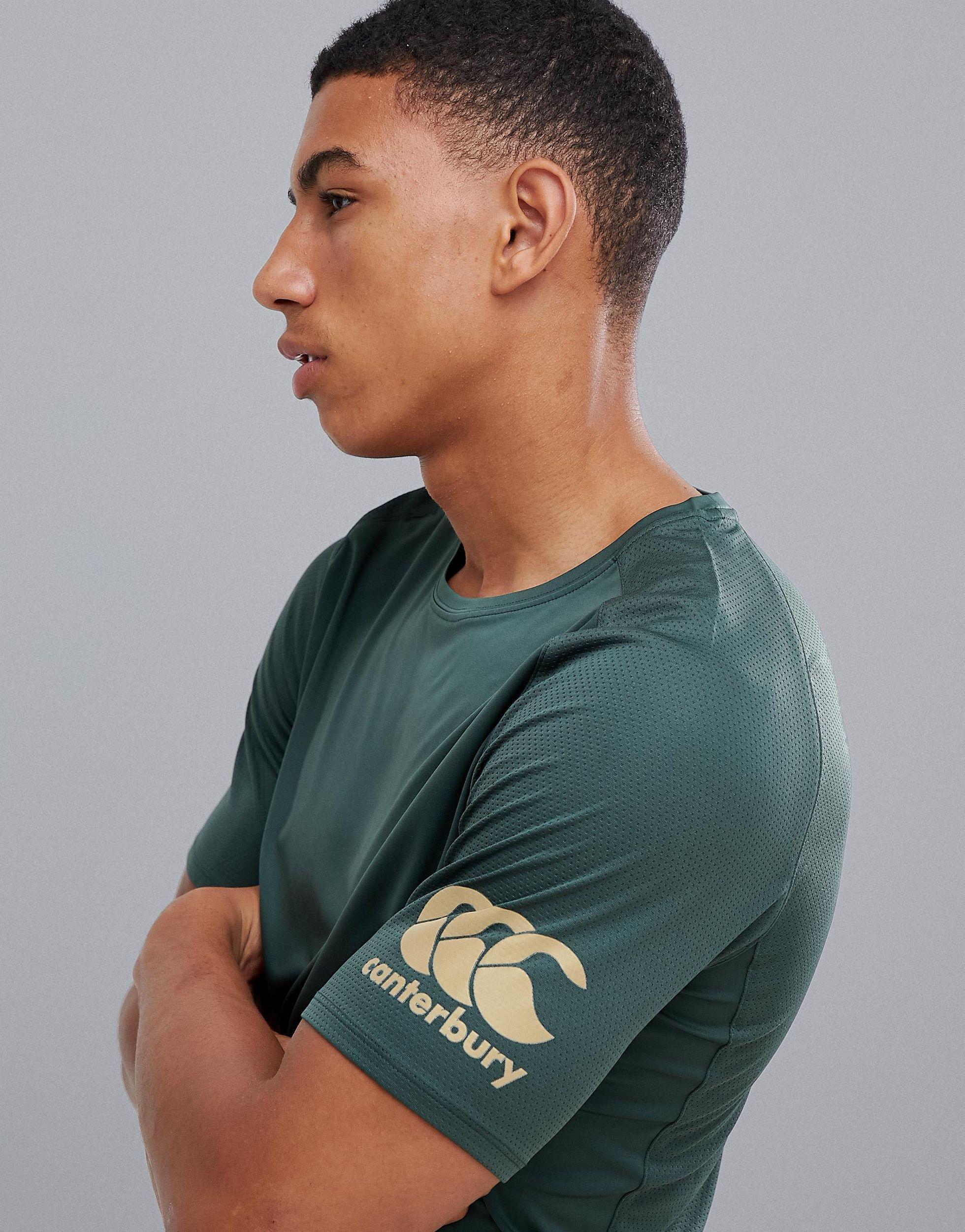 Canterbury Canterbury - Vapodri - Superlichte T-shirt in het Groen voor heren