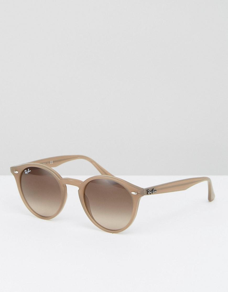 6dc80ac7b0 Ray-Ban 0rb2180 Round Sunglasses In Taupe in Natural for Men - Lyst