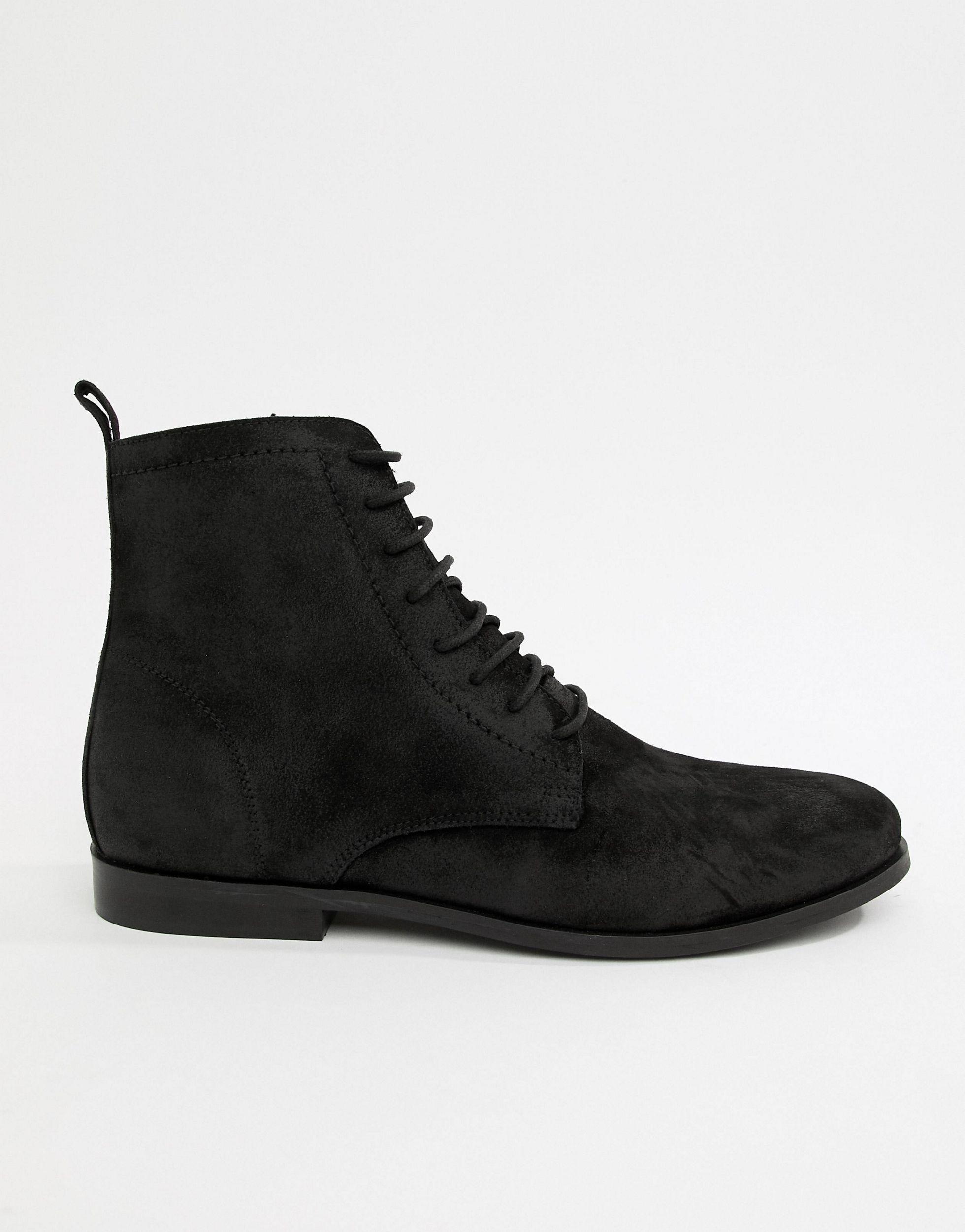 Kurt Geiger Suede Lace Up Boots