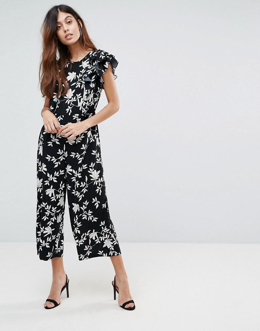 Printed Flutter Panel Jumpsuit - Black Vero Moda In China Clearance Official Site pVB4fJAvF