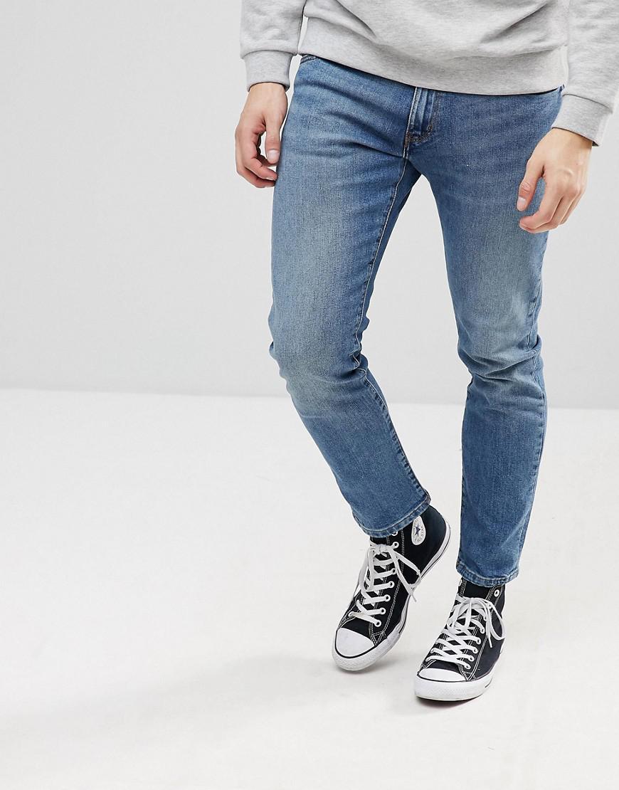f3678dbf8b Wrangler Bryson Skinny Jeans Hopkins Blue in Blue for Men - Lyst