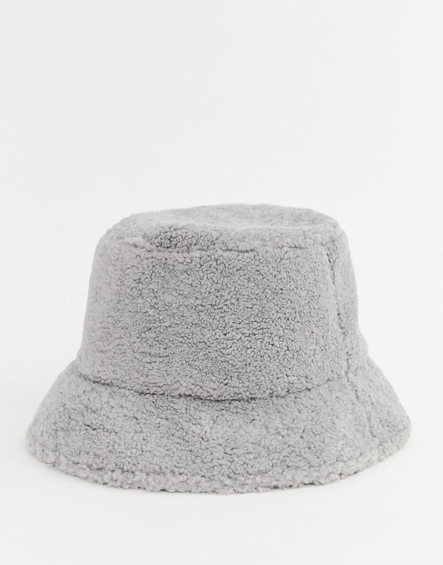 3e9a227b6087c ASOS Grey Borg Bucket Hat in Green - Lyst