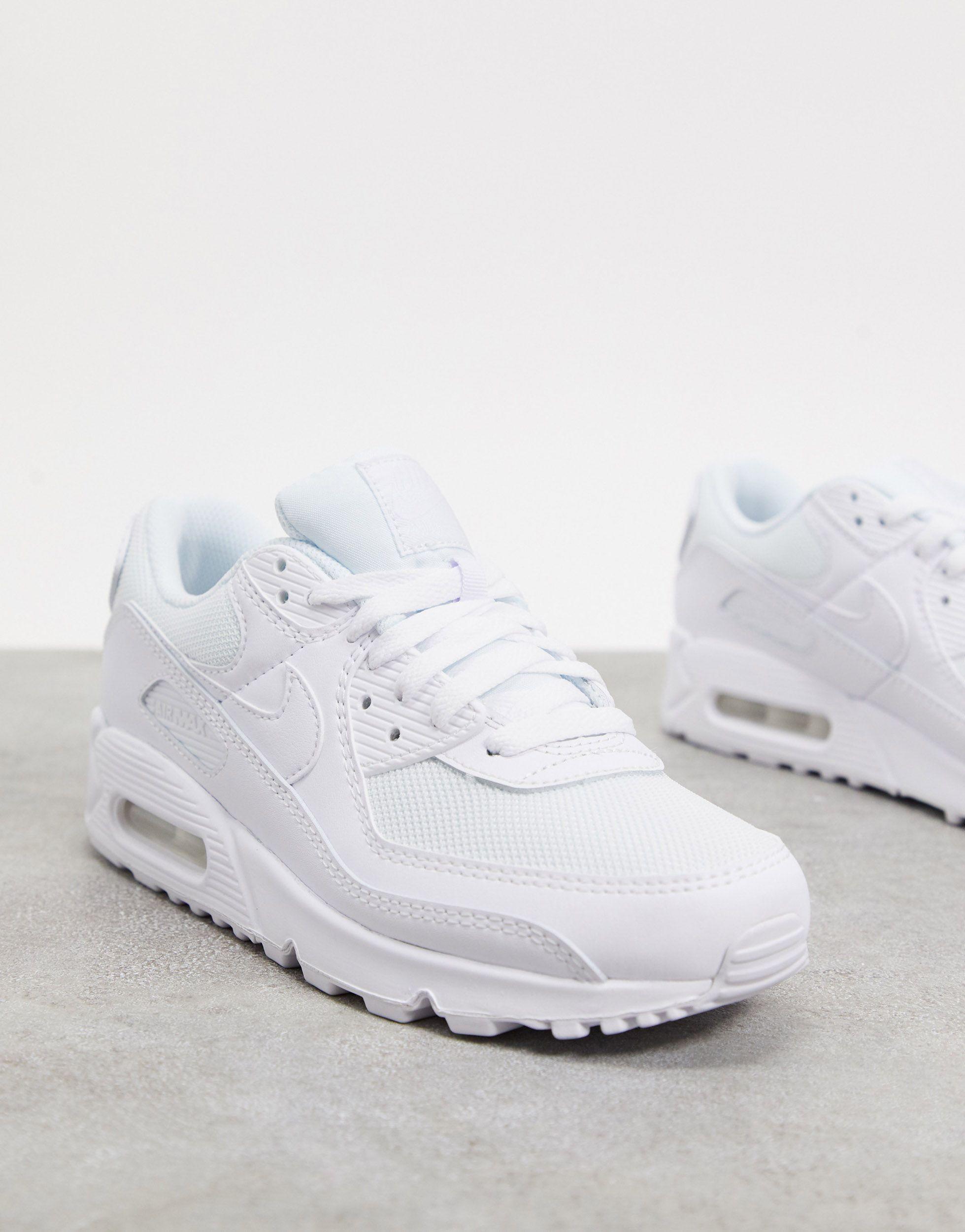 air max 90 bianco