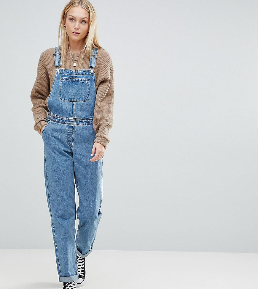 DESIGN denim dungaree in midwash blue - Midwash blue Asos iV1ILAfQGz