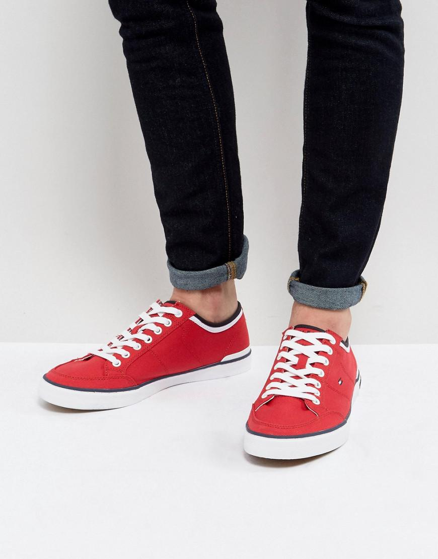 White Tommy Hilfiger Signature Shoes