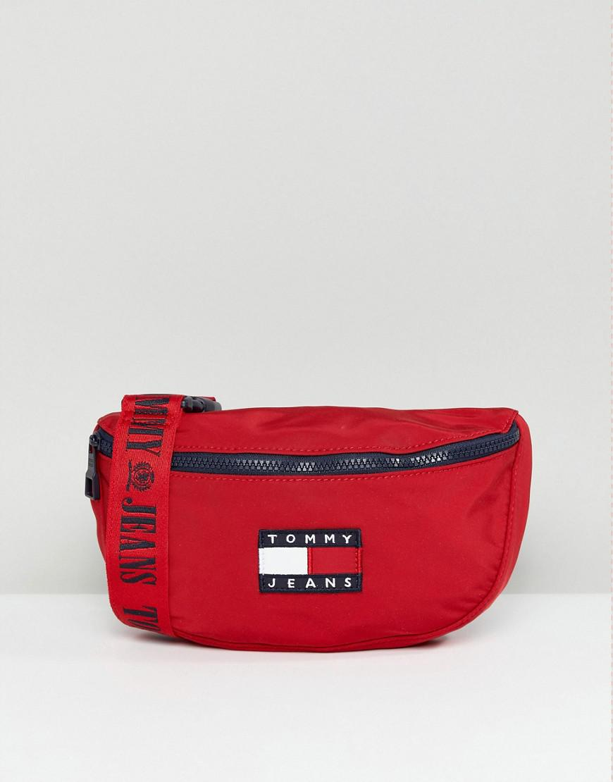 5a1eccc8ac Tommy Hilfiger Tommy Jean 90s Capsule Crossbody Bag in Red - Lyst