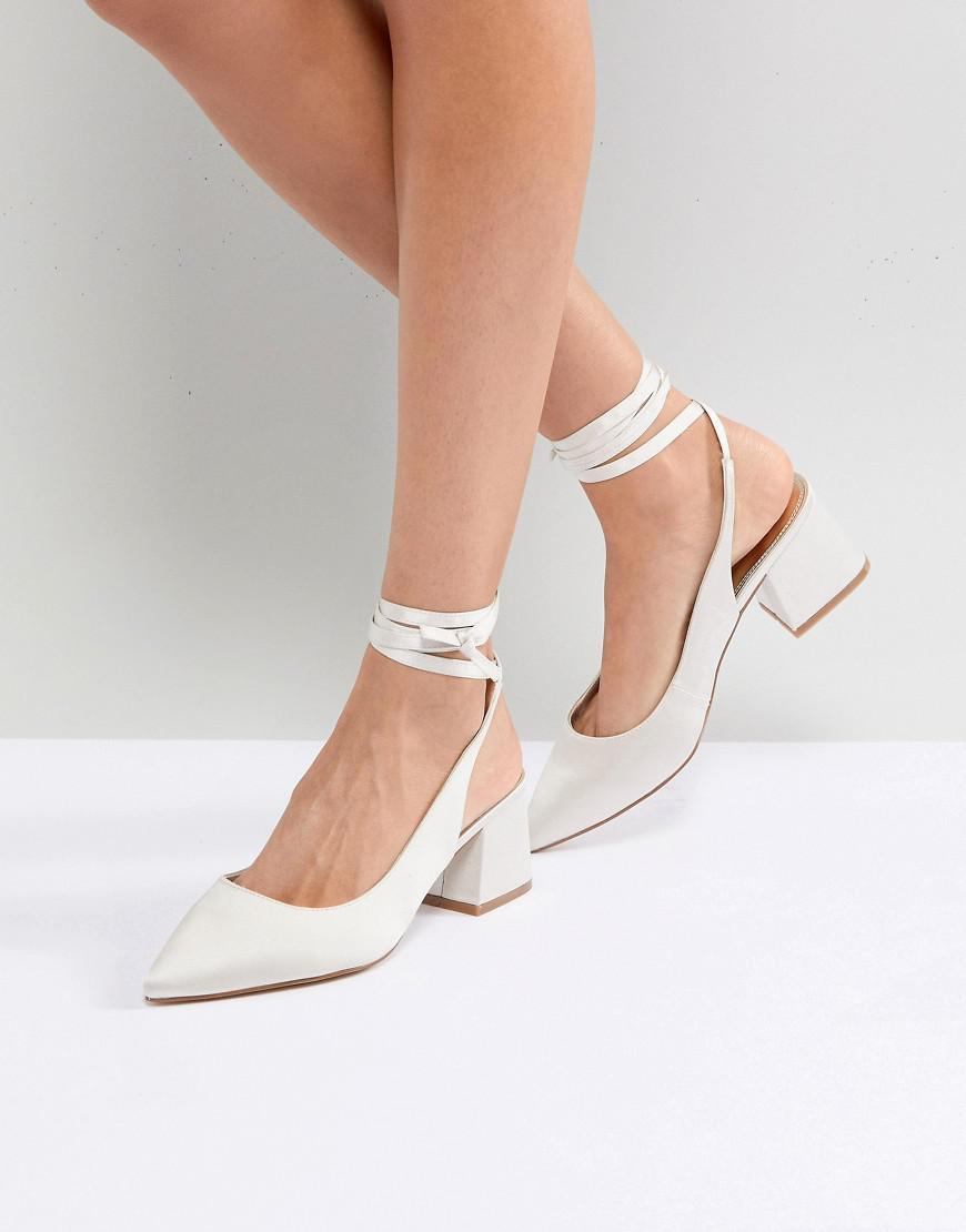 ASOS PEBBLE Bridal Pointed High Heels wTwRx7Xuzn