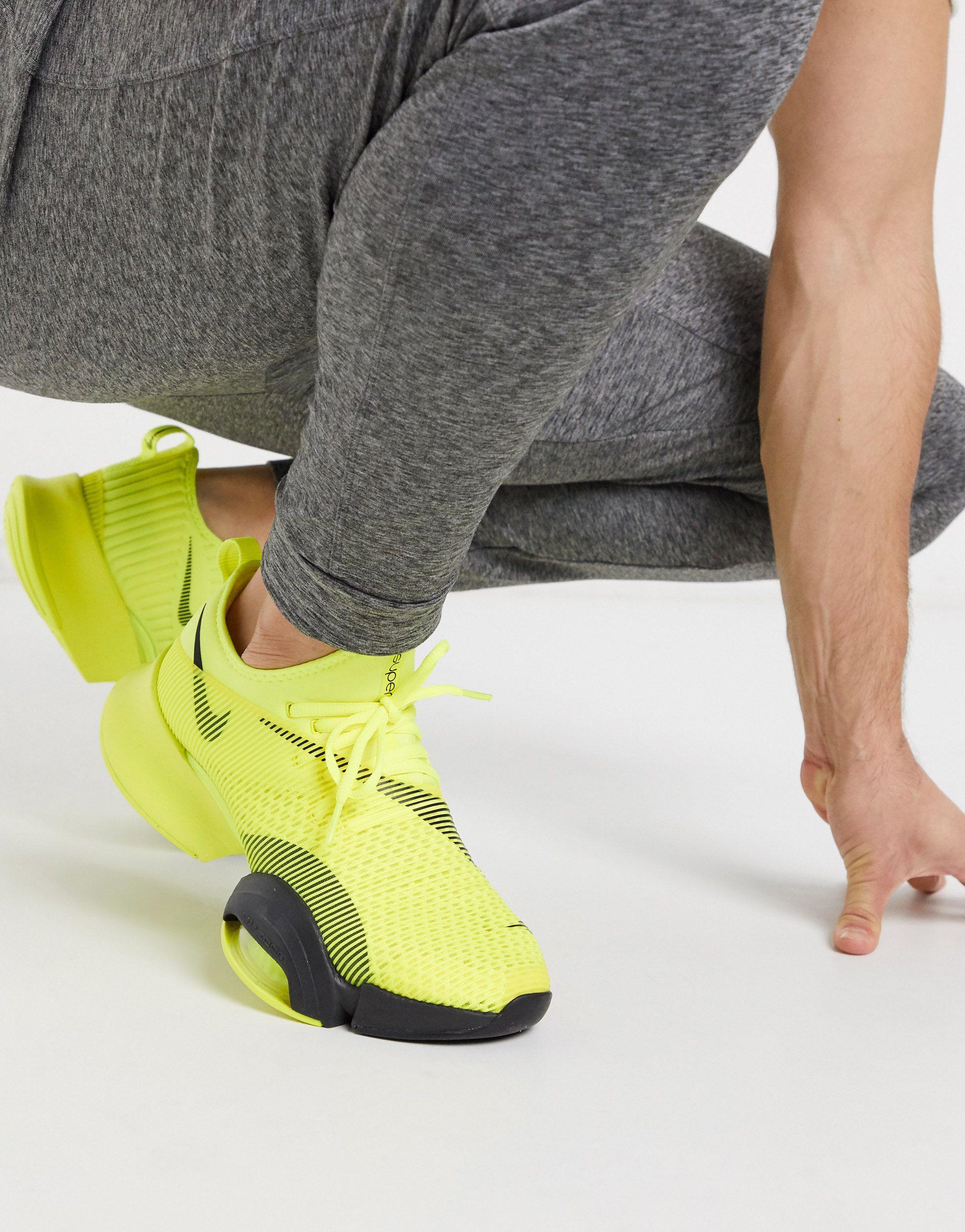 Nike Air Zoom Super Rep Sneakers in Yellow for Men - Lyst