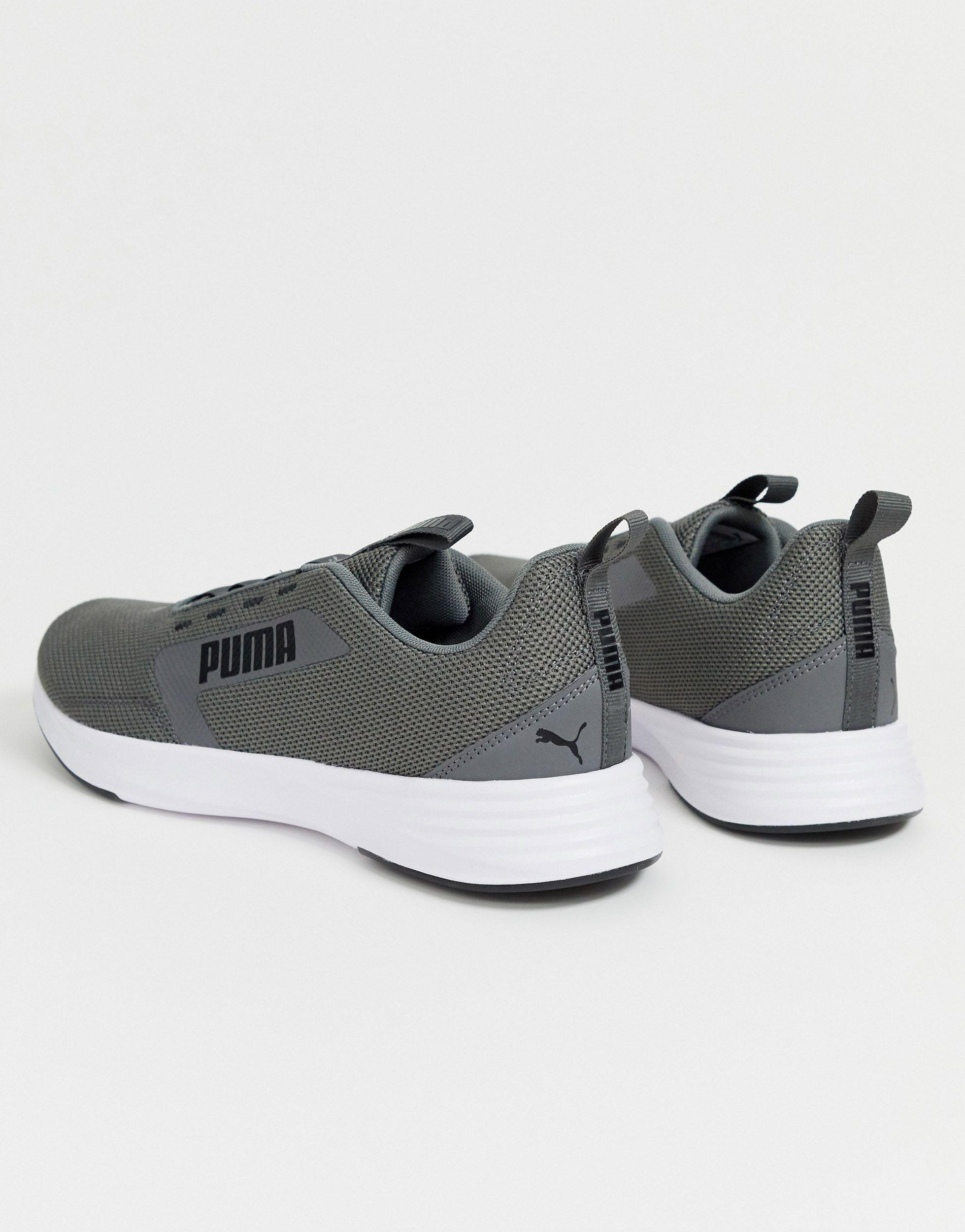 PUMA Extractor Running Trainers in Gray