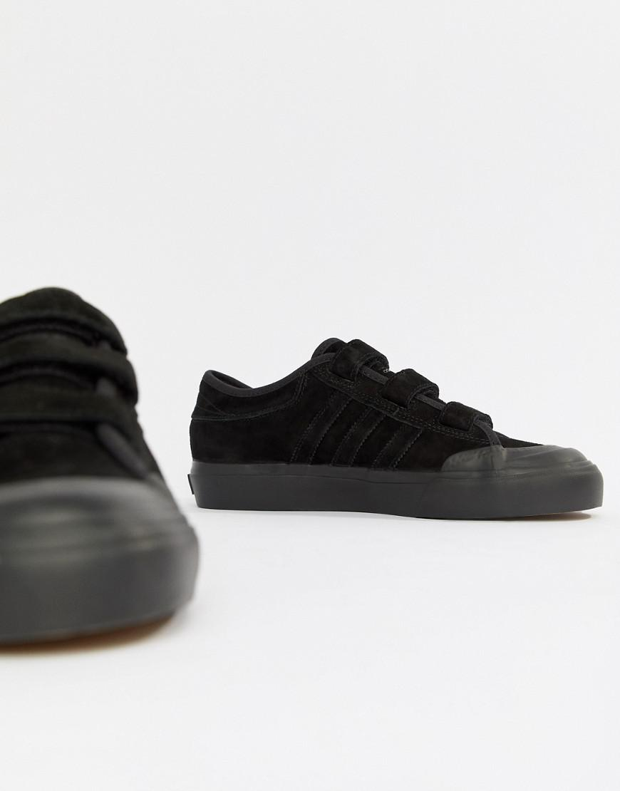 63069ca45bf3 Lyst - adidas Originals Adidas Skate Boarding Matchcourt Cf Sneakers With  Straps in Black