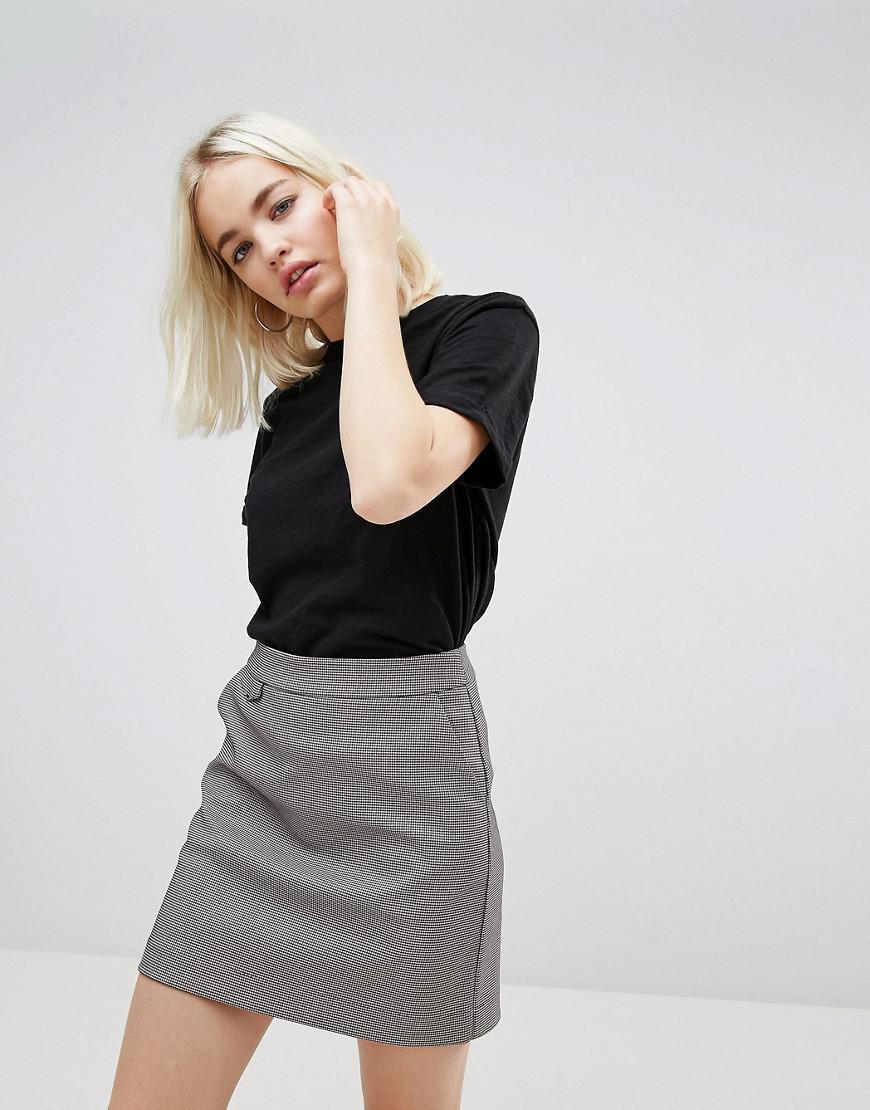 Lyst - New Look Organic Short Sleeve T-shirt in Black