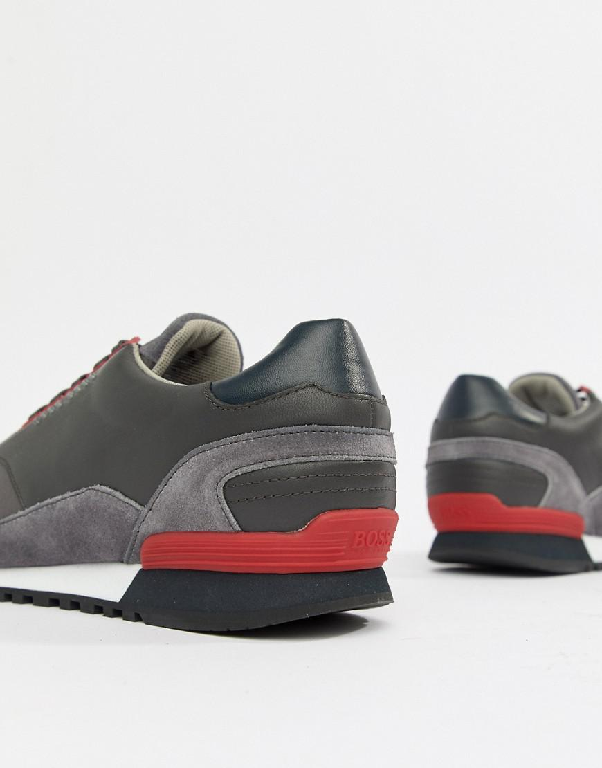 HUGO BOSS Zephir Sneaker in Dark Lcumx