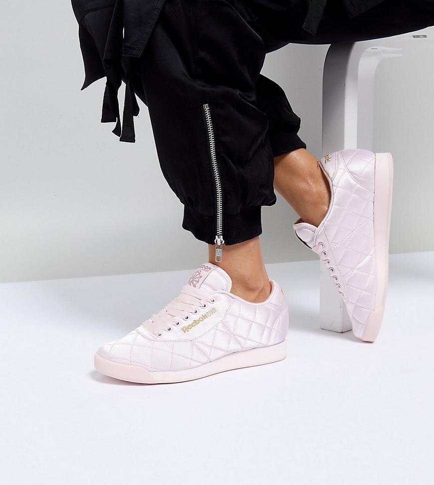 Sortenstile von 2019 größte Auswahl wie man kauft White X Reebok Princess Sneakers In Quilted Satin